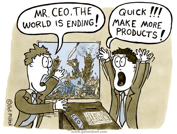 Mr. CEO, The World Is Ending!